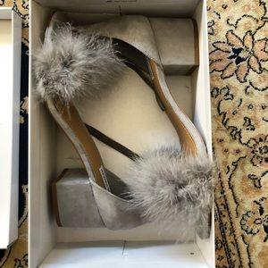 Steve Madden Imelda Fuzzy Heels